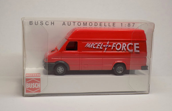 Busch 47913, Iveco Daily – Parcel Force, / H0